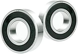 2x 1614-2RS Ball Bearing 3/8 x 1-1/8 x 3/8 inch Rubber Seal Premium RS 2RS