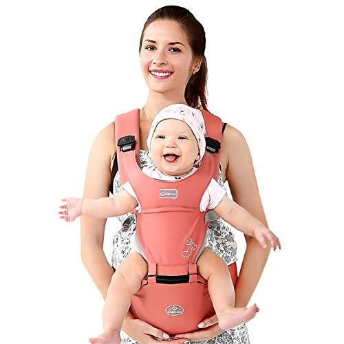 SONARIN Front Premium Hipseat Porte-bébé Baby Carrier,Multifonctionnel, Ergonomique,100% Coton,...