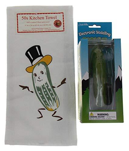Yodelling Pickle Bundled with a Mr Pickle Kitchen Towel