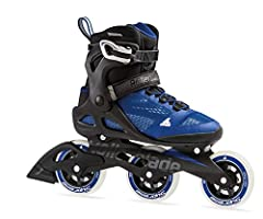 3 wheel drive (3WD) high performance - increased lateral support for faster skating and enhanced stability while training Flex & lateral support - higher cuff provides added security for balance and secure foot hold Athletic shoe engineered mesh uppe...