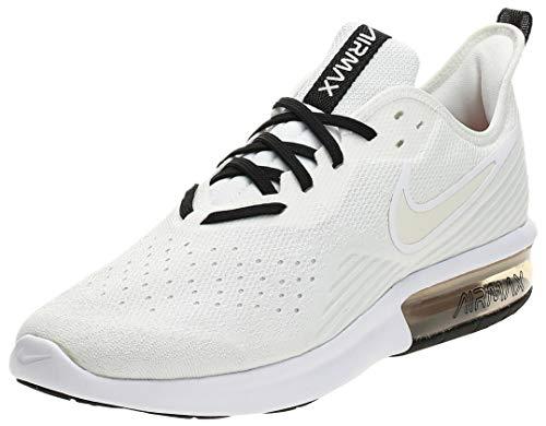 Nike Wmns Air Max Sequent 4, Scarpe da Atletica Leggera Donna, Multicolore (White/Pale Ivory/off White 101), 41 EU