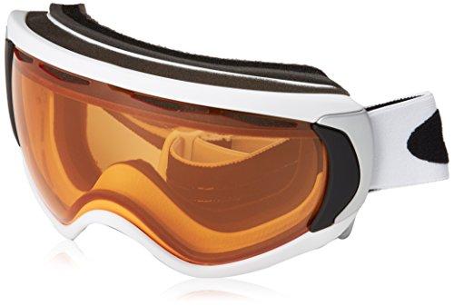 Oakley Herren Canopy Skibrille/snowboardbrille, Matte White, EL. ADJUSTABLE