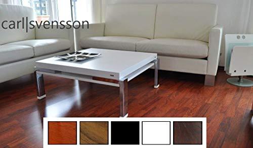 Design Couchtisch Tisch Carl Svensson K-222 Weiß Chrom