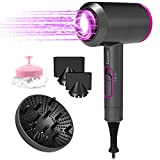 Ionic Hair Dryer 2000 Watt Hot and Cool Settings 3 Speed Adjustable Negative