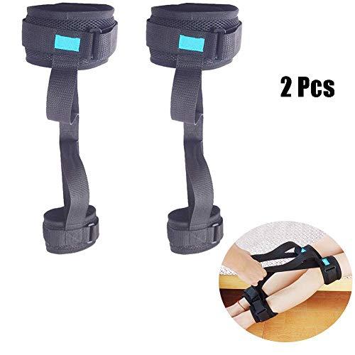 TWL LTD-Wheelchairs Oberschenkelheber Beingurt Einstellbare Hebefüße Gurte Schlaufen Mobilitätshilfen Zubehör Ältere Menschen Behinderung Pädiatrie für Rollstuhl Bett Autostuhl, 1St, 2 Stück