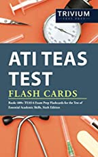 Image of ATI TEAS Test Flash Cards. Brand catalog list of .