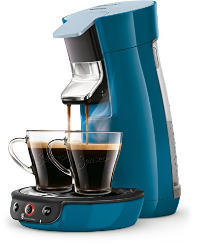 Machine à dosettes Philips Senseo Viva Cafe HD6563/70 Crema Plus Réglage de la force du café Standard bleu