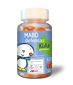 MABO defensas Kids Gummies 30 caramelos de goma