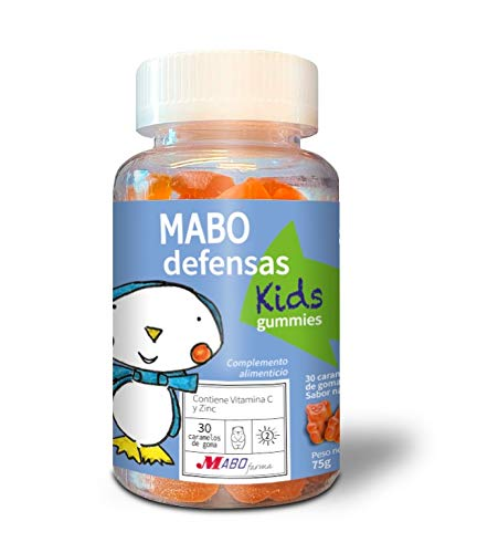 MABO defensas Kids Gummies 30 caramelos de goma