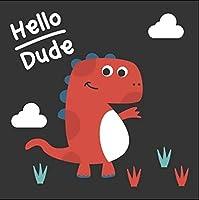 DIY油絵 漫画の恐竜 - 絵画デジタル絵画油絵 数字キットによる絵画手塗り DIY絵 デジタル油絵塗り絵 40x50cm (フレームレス)