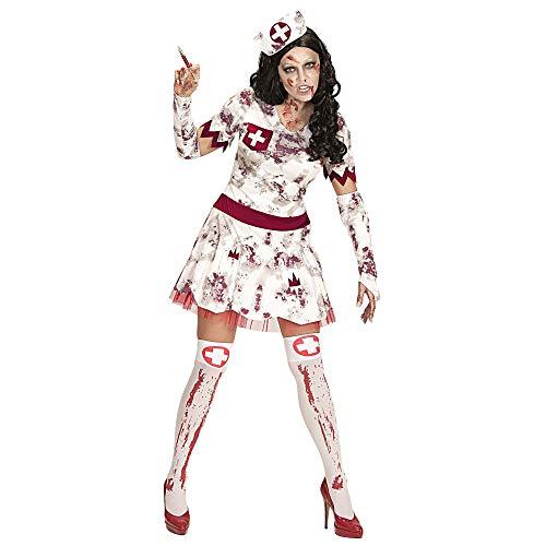 Widmann 07502 Erwachsenen Kostüm Zombie Krankenschwester, womens, M