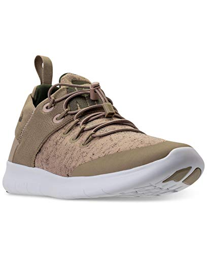 Nike Womens Free Rn CMTR Fabric Low Top, Khaki/med-Olive-Off White, Size 6.0
