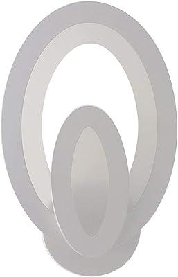 Derecha, Ajuste de la 1/ª marcha Aplique De Pared 7.8*9.8 Led Dormitorio Junto A La Cama Moderno Acr/íLico Simple Luces Habitaci/óN Los Ni/ñOs Del Pasillo Estrella C/áLida Luz Luna Blanca