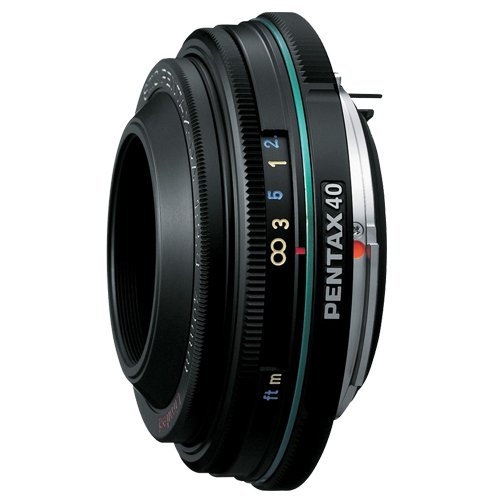 Pentax smc DA 40 mm / 2,8 Limited - Objetivo (0,4 m, 39°, 6,3 cm, 4,9 cm, 1,5 cm, 90 g)