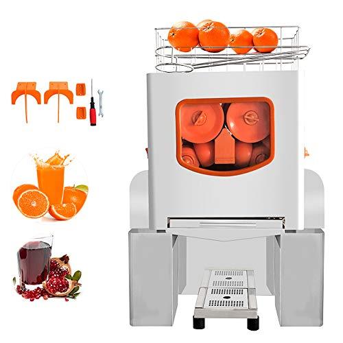 Minocool Pro Commercial Juicer, 110V 120W Automatic Commercial Orange Juicer Machine Stainless Steel Electric Juice Squeezer Lemonade Making Machine for Fresh Fruit Vegetable, 20 pcs/min