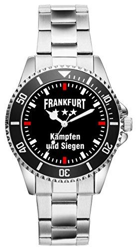 KIESENBERG - Frankfurt Geschenk Fan Artikel Zubehör Fanartikel Uhr 2283