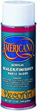 Americana Acrylic Sealer/Finish Aerosol Spray 12oz, Gloss