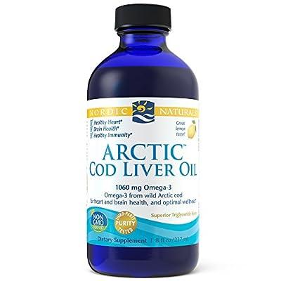 Nordic Naturals - Arctic Cod Liver Oil Lemon - 8 oz. from Nordic Naturals