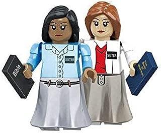 Brick'Em Young LDS Sister Missionary Figurine Set