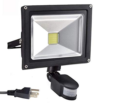 20W Led Motion Sensor Flood Lights Outdoor, PIR...