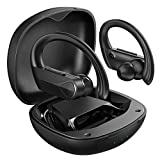 Wireless Earbuds Sports, Mpow Flame Solo Bluetooth Earbuds, Bass+ in Ear Wireless Earphones Bluetooth Headphones with Mic Earphones, Fast Charging/USB-C/28H Playtime/IPX7 Waterproof for Running Sports