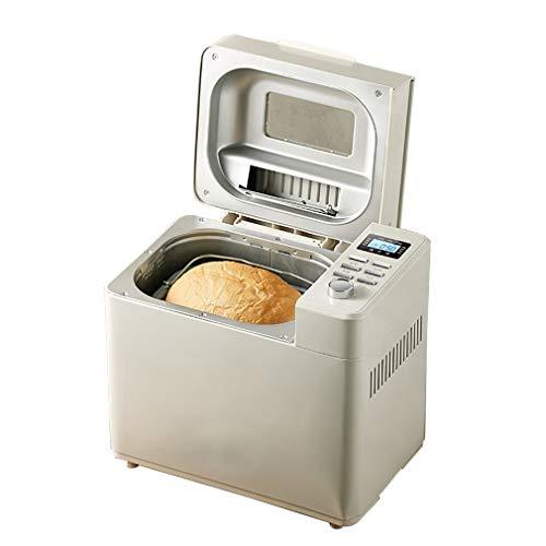 ZTGL Macchina per Il Pane con Distributore di Semi, Tostapane in Acciaio Inossidabile, 500/750/1000 Grammi, 19 Programmi per Cucinare e Impastare, Bianco