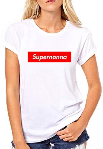 Idea Regalo Nonno fashwork Tshirt Festa dei Nonni Super Nonno