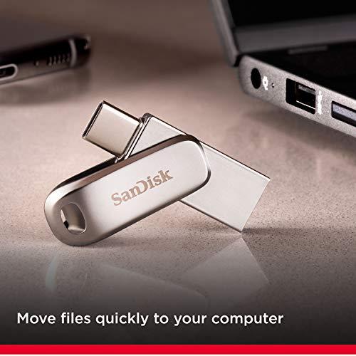SanDisk Ultra 128GB Dual Drive Luxe Type-C 150MB/s USB 3.1 Gen 1