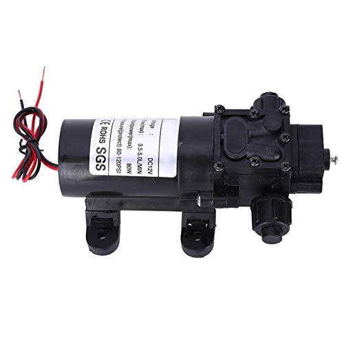 Bomba de diafragma Bomba de agua de succión Bomba FL3210H-80W Rosca macho 10mm Salida de agua derecha para lavado de coches