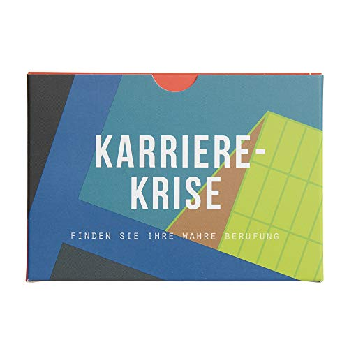 The School of Life - Career Crisis Prompt Cards - deutschsprachige Ausgabe