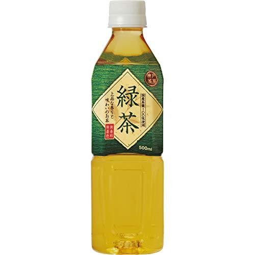 富永貿易 神戸居留地 緑茶 ケース500ml×4