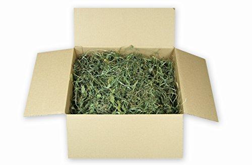 Löwenzahnheu 5kg getrocknete Löwenzahnblätter mit hochwertigem Heu Kaninchen Meerschweinchen