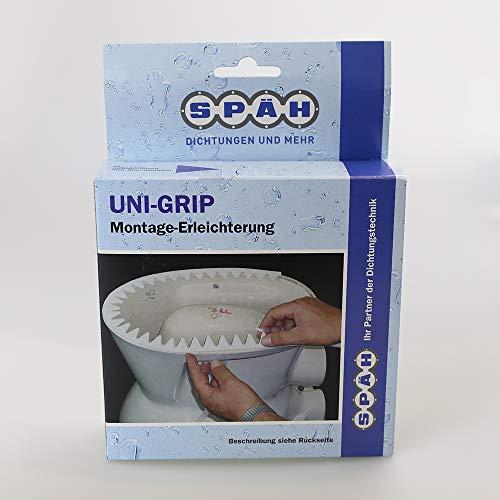 UNI-GRIP Dichtband selbstklebend Montage Erleichterung Sanitär Wand und Bodenmontage Zick Zack Band 1466565