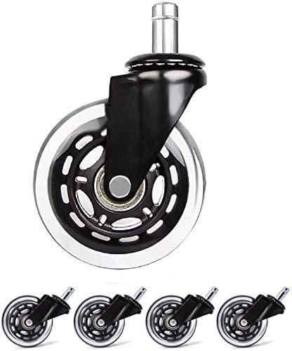 lyqqqq Superlatite 5Pcs Office Chair Castors Swivel Wheel Regular dealer Transp Replacement