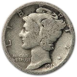 1918 s mercury dime