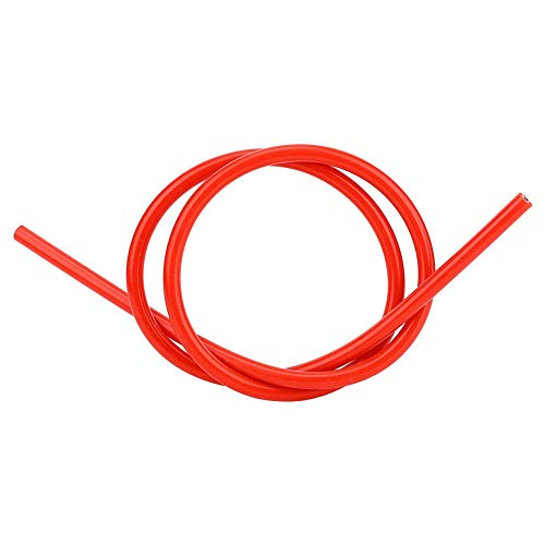 Zündkerzen kabel, Fydun 8mm Silikon Funken Zündkabel Draht Auto Zusatz Ersatz Teil des Hohen Widerstands(Rot)