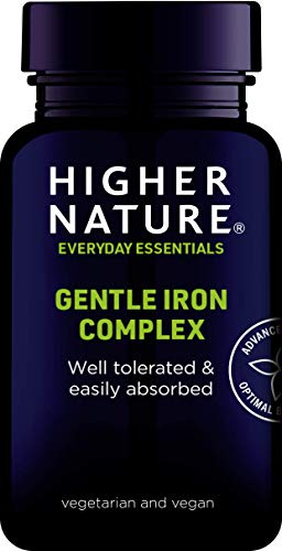 Higher Nature Gentle Iron Complex - 60 Capsules