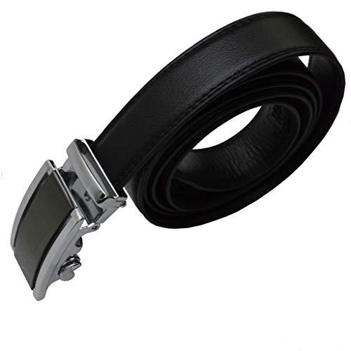 flevado Gürtel Design Automatik Ledergürtel 3,8 cm Breit bis 130 cm Länge (110 cm Länge)