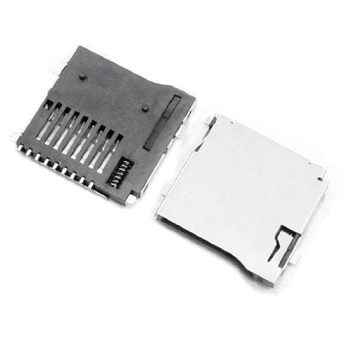 X-Dr 15 pcs tipo push-out Micro SD TF Tarjeta de memoria Sockets Conectores (e20b83118441fc8071eeddcce9e61c0b)