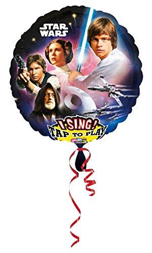 amscan 3165401 Star Wars Jumbo Sing-a-Tune Décoration Set (XL)