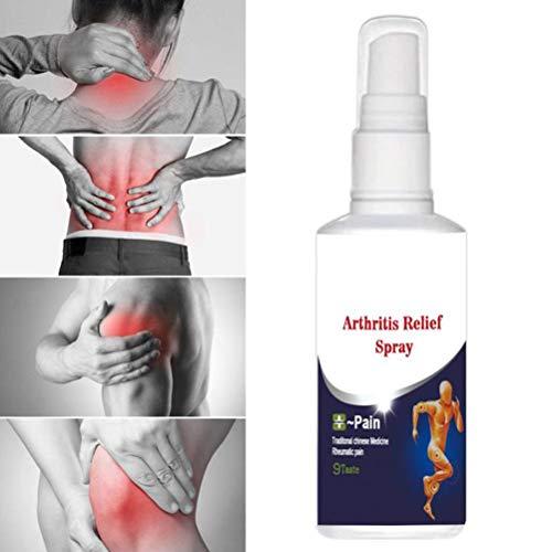 Bonbela 60ml Knochen Spray Knochen Arthritis Knie Taille Rückenschmerzen Schultergelenk-Spritz-Spray