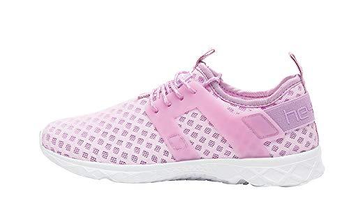 Dude Shoes Mujeres Mistral Damas Lila Entrenador De Flujo De Aire UK5 / EU38