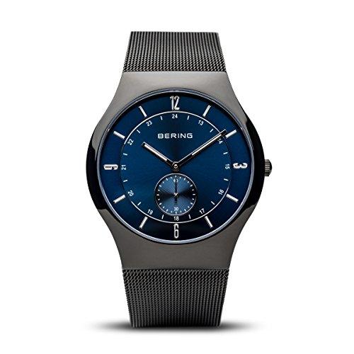 BERING Herren-Armbanduhr Analog Quarz Edelstahl 11940-227