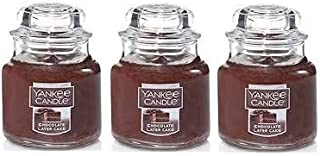 Yankee Candle Chocolate Layer Cake Small Jar Candle - Set of 3