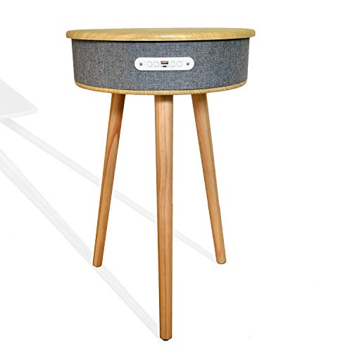 Oliver Hays Interiors, Bluetooth Speaker, Bamboo Wood Smart Scandi Design...