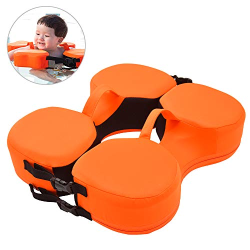 HOXHA Baby Swim Float, Non-Inflatable Swimming Pool Floats Newborn Trainer Outdoor Beach Water Bath Toy