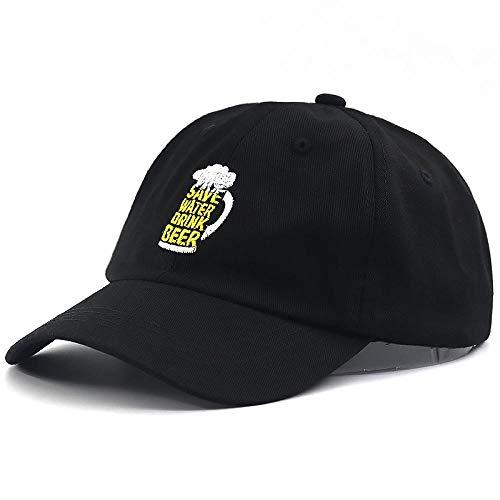 Kappe Frauen Männer ModeWeinglasPapa Hut Baumwolle Verstellbare BaseballmützeBuchstaben Stickerei Snapback Casual Hats