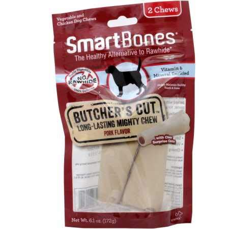 Smartbones Butcher'S Cut Long-Lasting Mighty Chew For Dogs, Large, 2 Pack