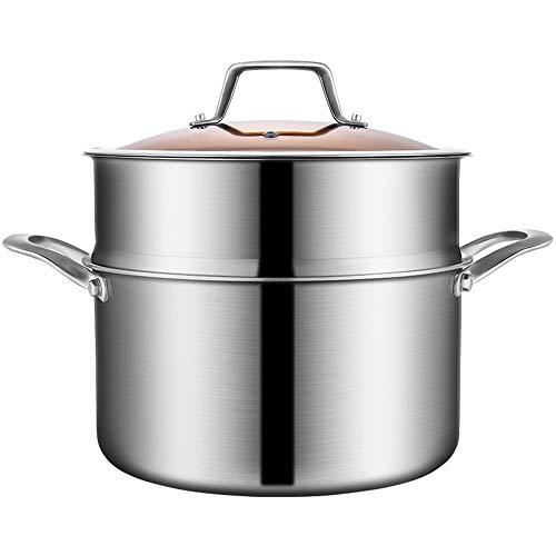 CDwxqBB soeppan voor Spessa Europea, stoompan van roestvrij staal, 304 snelkookpan voor huishoudelijk gebruik met gas