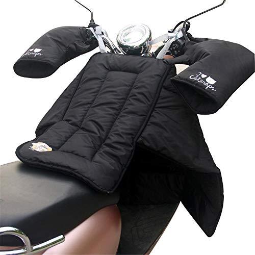 Seasaleshop Motorfiets-weerbescherming bescherming bescherming tegen vocht voor scooters beenbescherming voor scooters waterdicht katoen verdikt warm houden beenbescherming voor scooters in de winter